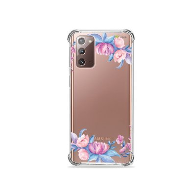 Capa (Transparente) para Galaxy Note 20 - Bromélias