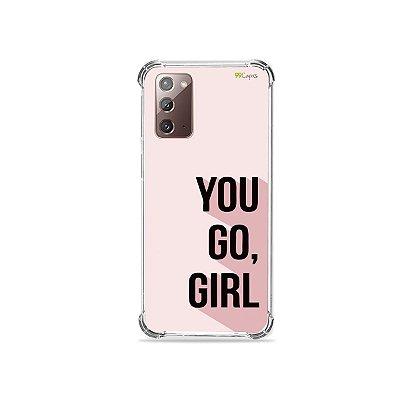Capa para Galaxy Note 20 - You Go, Girl