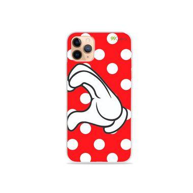 Capa para iPhone 12 Pro - Coração Minnie