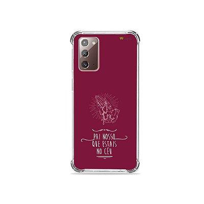 Capa para Galaxy Note 20 - Pai Nosso
