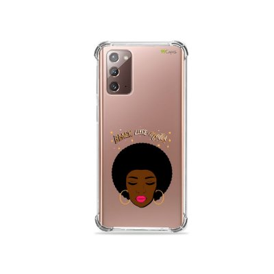 Capa (Transparente) para Galaxy Note 20 - Black Lives