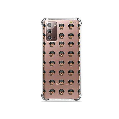 Capa (Transparente) para Galaxy Note 20 - Salsichinha