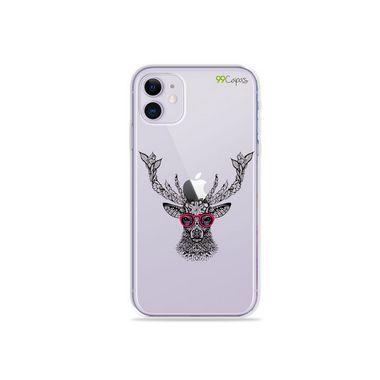 Capa (Transparente) para Iphone 12 - Alce Hipster