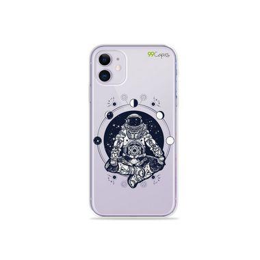 Capa (Transparente) para Iphone 12 - Astronauta
