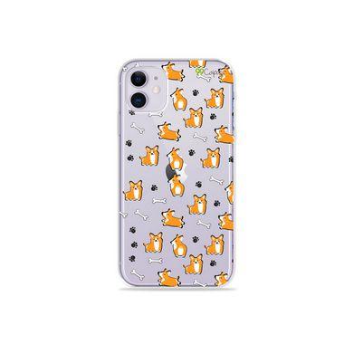 Capa (Transparente) para Iphone 12 - Cãozinho
