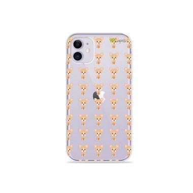 Capa (Transparente) para Iphone 12 - Chihuahua