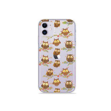 Capa (Transparente) para Iphone 12 - Corujinhas