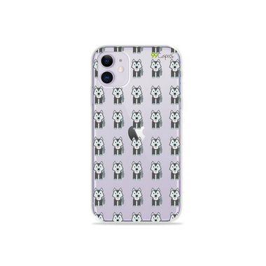 Capa (Transparente) para Iphone 12 - Husky