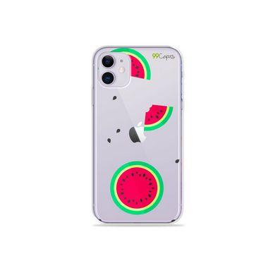 Capa (Transparente) para Iphone 12 - Melancias
