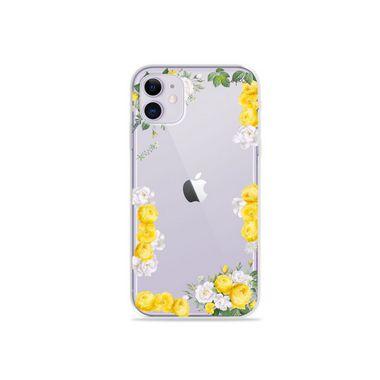 Capa (Transparente) para Iphone 12 - Yellow Roses