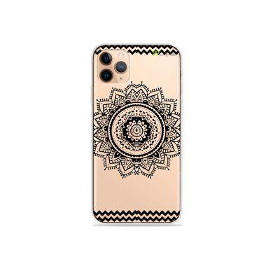 Capa (Transparente) para iPhone 12 Pro - Mandala Preta