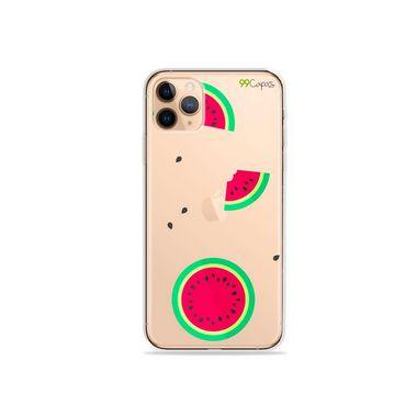 Capa (Transparente) para iPhone 12 Pro - Melancias