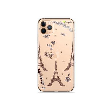Capa (Transparente) para iPhone 12 Pro - Paris