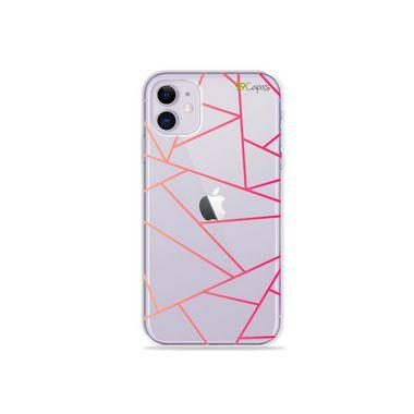 Capa (Transparente) para Iphone 12 Mini - Abstrata