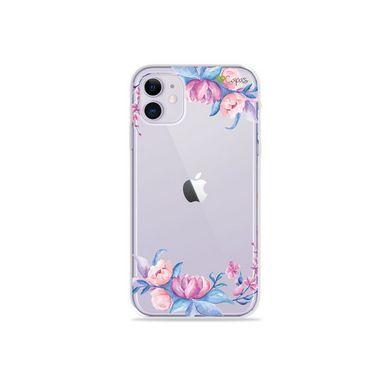 Capa (Transparente) para Iphone 12 Mini - Bromélias