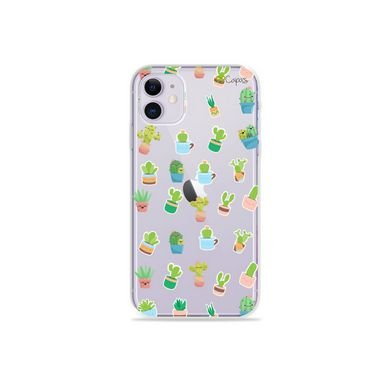 Capa (Transparente) para Iphone 12 Mini - Cactus