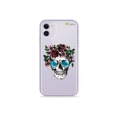 Capa (Transparente) para Iphone 12 Mini - Caveira