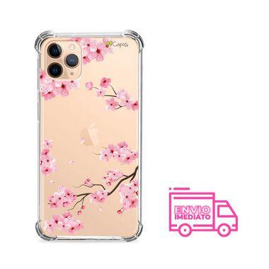 Capa (Transparente) para Iphone 12 Mini - Cerejeiras