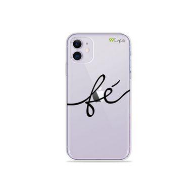Capa (Transparente) para Iphone 12 Mini - Fé
