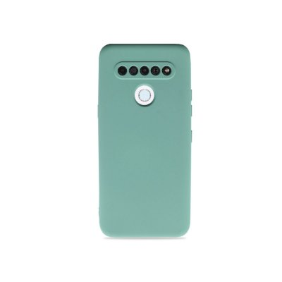 Silicone Case Verde Água para LG K61 - 99Capas