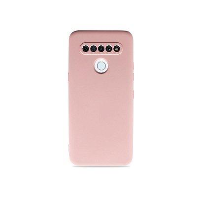 Silicone Case Rosa Claro para LG K61 - 99Capas
