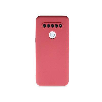 Silicone Case Rosa Pink para LG K61 - 99Capas