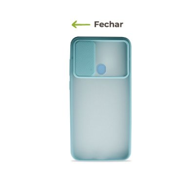 Capinha Soft Azul com proteção de câmera para Galaxy A11  - 99Capas