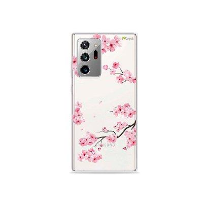 Capa (Transparente) para Galaxy Note 20 Ultra - Cerejeiras