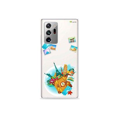Capa (Transparente) para Galaxy Note 20 Ultra - Memórias