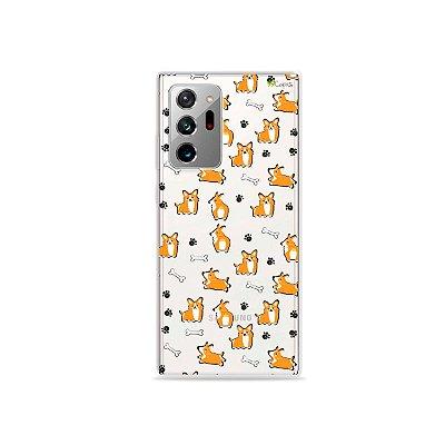 Capa (Transparente) para Galaxy Note 20 Ultra - Cãozinho
