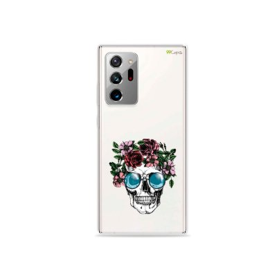 Capa (Transparente) para Galaxy Note 20 Ultra - Caveira