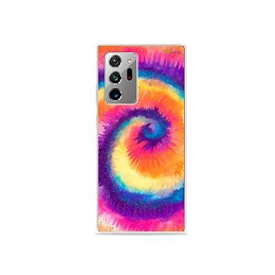 Capa para Galaxy Note 20 Ultra - Tie Dye Roxo