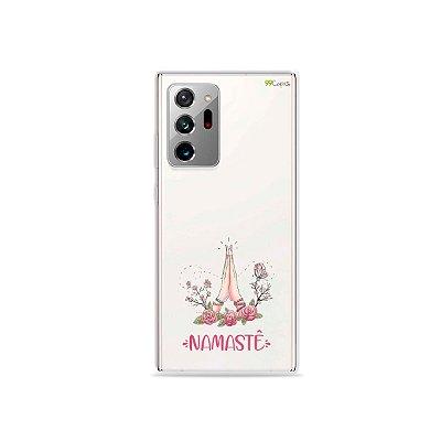 Capa (Transparente) para Galaxy Note 20 Ultra - Namastê