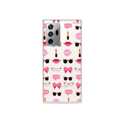 Capa (Transparente) para Galaxy Note 20 Ultra - Girls