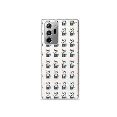 Capa (Transparente) para Galaxy Note 20 Ultra - Husky