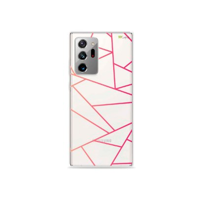 Capa (Transparente) para Galaxy Note 20 Ultra - Abstrata