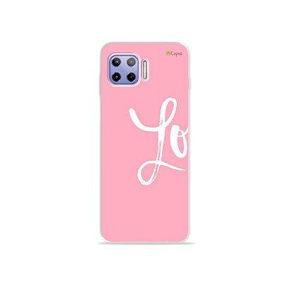 Capa para Moto G 5G Plus - Love 1