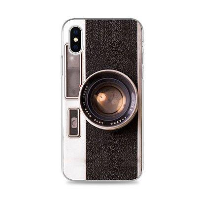 Capinha Câmera para iPhone X