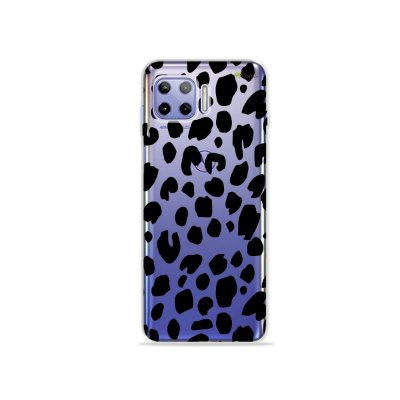 Capa (Transparente) para Moto G 5G Plus - Animal Print Basic