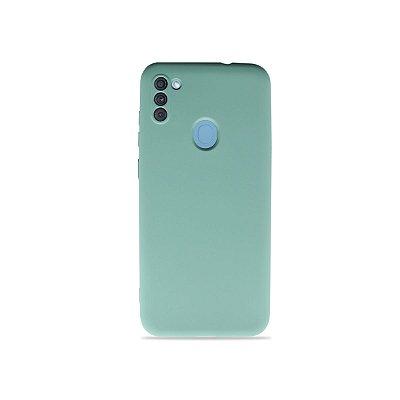 Silicone Case para Galaxy A11 - Verde Água