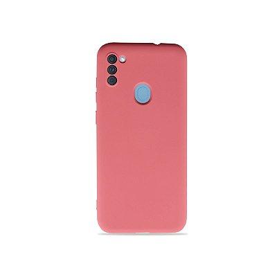 Silicone Case para Galaxy A11 - Rosa