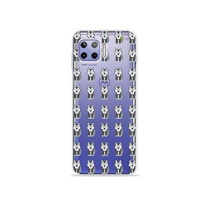 Capa (Transparente) para Moto G 5G Plus - Husky