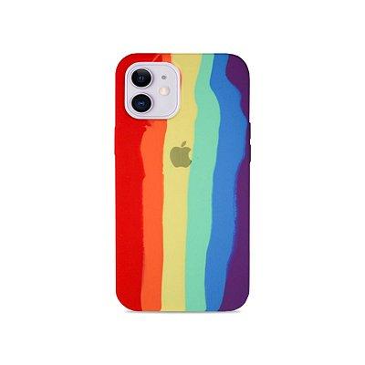 Silicone Case Arco-íris para iPhone 11 - 99Capas