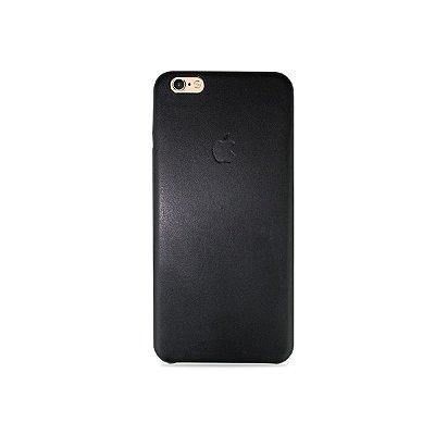 Capa Couro Preta para iPhone 6 Plus / 6s Plus - 99Capas