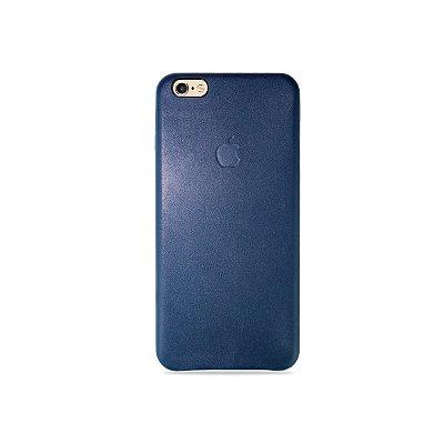 Capa Couro Marinho para iPhone 6 Plus / 6s Plus - 99Capas