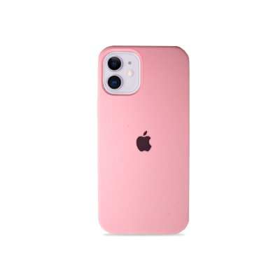 Silicone Case Rosa Bebê para iPhone 12 Mini - 99Capas