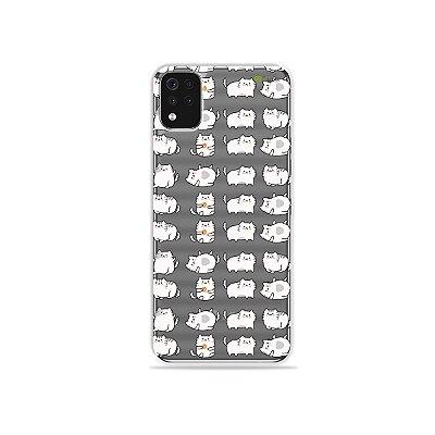 Capa (Transparente) para LG K52 - Lazy Cat