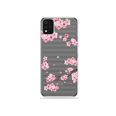 Capa (Transparente) para LG K52 - Cerejeiras