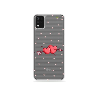 Capa (Transparente) para LG K52 - In Love