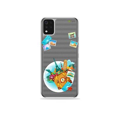 Capa (Transparente) para LG K52 - Memórias